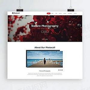 html5响应式照相馆摄影机构网站模板