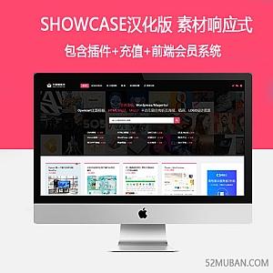 Showcase汉化版 素材响应式WordPress网格瀑布流博客主题模板