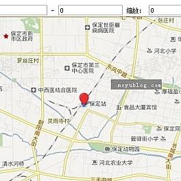帝国CMS添加百度地图标注方法