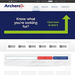 德尔诺电子科技企业网站html模板