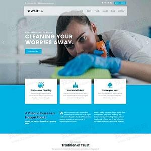 家政保洁公司官网html模板