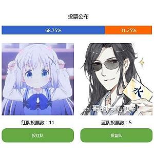 js投票数量统计代码
