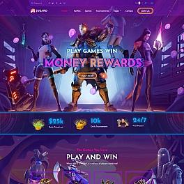 电子竞技游戏官网HTML响应式模板