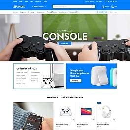 数码产品电子商务HTML响应式模板